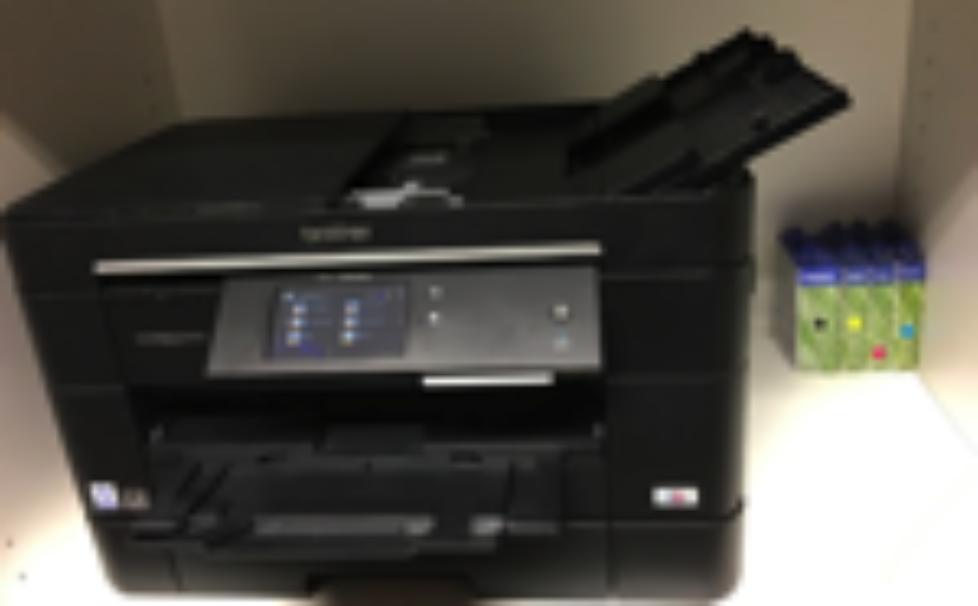 Neuer Alleskönner-Drucker in meinem Büro