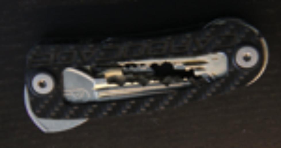 Moderner Schlüsselbund