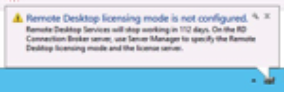 Remote Desktop Server Licensing Mode in Windows 2012 setzen